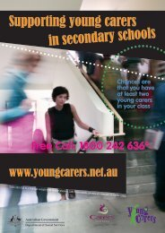 Supporting Young Carers in Secondary Schools