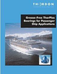 ThorPlas for Passenger Ship Applications - Thordon Bearings