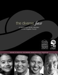 the diverse face - United Way of Greater Los Angeles