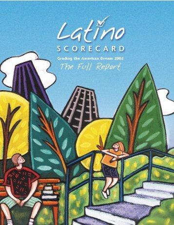 Latino Scorecard - United Way of Greater Los Angeles