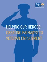 Helping Our Heroes: Creating Pathways to Veteran Employment
