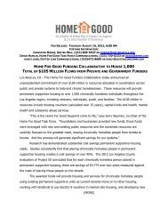 press release - United Way of Greater Los Angeles