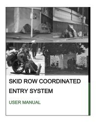 skid row coordinated entry system - United Way of Greater Los ...
