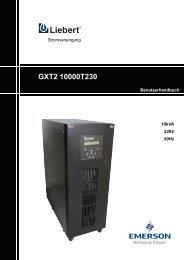 UPStation GXT2 10 kVA Tower - USV-Direkt.de