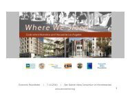 Where We Sleep: Costs When Homeless and Housed in Los Angeles