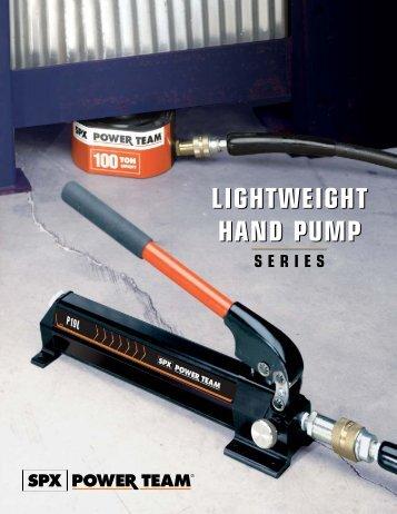 lightweight hand pump lightweight hand pump - Power Team
