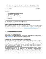 Newsletter 04/2013 - Geschichte
