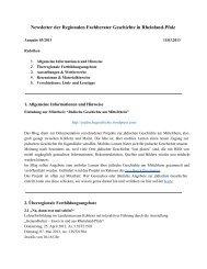 Newsletter 03/2013 - Geschichte