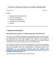 Newsletter 06/2013 - Geschichte