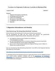 Newsletter 07/2013 - Geschichte