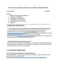Newsletter 08/2013 - Geschichte