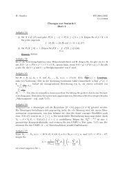 W. Sendler WS 2004/2005 17.12.2004 ¨Ubungen zur ... - Mathematik