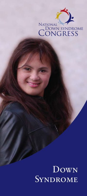 download our Down Syndrome brochure - National Down Syndrome ...