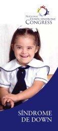 Folleto síndrome de Down - National Down Syndrome Congress