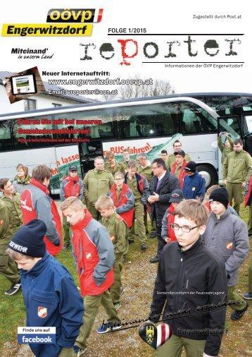 OÖVP Engerwitzdorf Reporter - Folge 1/2015