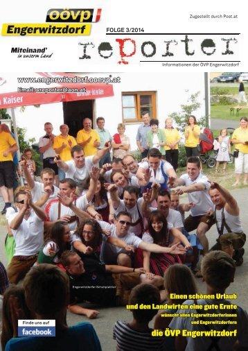 OÖVP Engerwitzdorf Reporter - Folge 3/2014