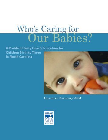 in the state - Child Care Services Association