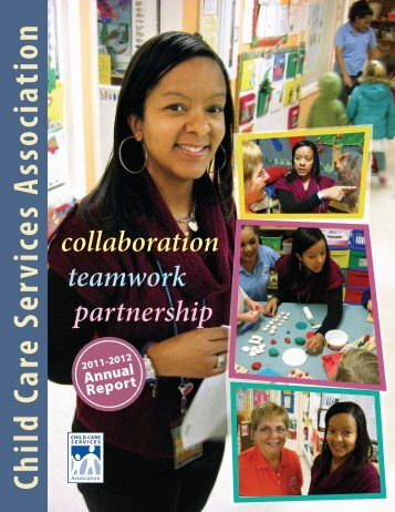 CCSA's 2011-2012 Annual Report - Child Care Services Association
