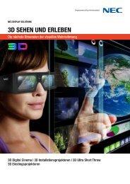 3D SEHEN UND ERLEBEN - NEC Display Solutions