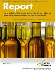 olive oil study