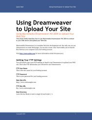 Using Dreamweaver to Upload Your Site - Maui Tech Girl