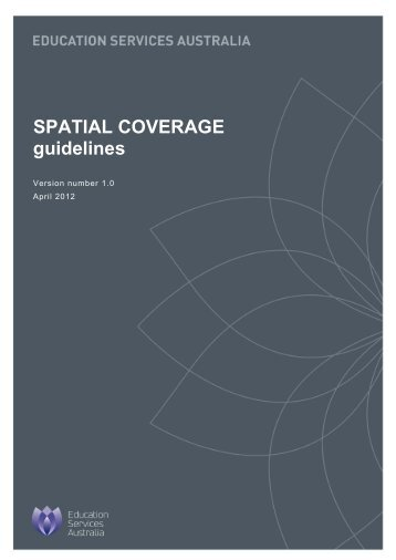 SPATIAL COVERAGE guidelines