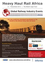 Heavy Haul Rail Africa - Rail Conferences