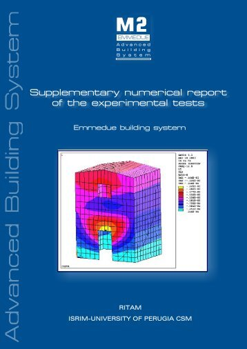Supplementary numerical report of the ... - M2Dominicana