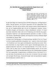 Zur Identität des gruppenanalytischen ... - Rudolf-heltzel.de