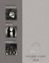 2004 Annual Report Editorial - Government Development Bank