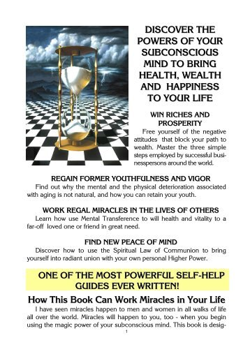 Download The Secrets From Your Subconscious Mind 3