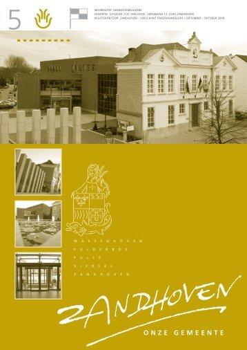 GB5 SEP-OKT 2009 - Gemeente Zandhoven
