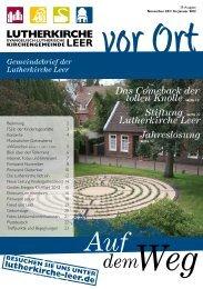 Auf dem Weg - Lutherkirche Leer