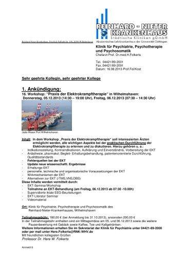 Information und Anmeldungsformular - FBI - Medizintechnik OHG