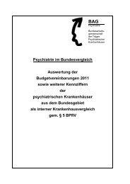 Auswertung der Budgetvereinbarung 2011 - Landschaftsverband ...