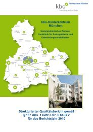 kbo-Kinderzentrum München - Kliniken des Bezirks Oberbayern