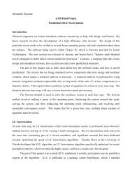 Report - Applied Parallel Computing