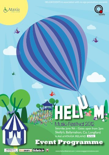 Best Wishes to Helium 2012 - Helium Music Festival