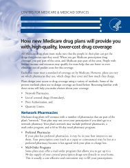 How new Medicare drug plans will provide you with ... - AlohaCare