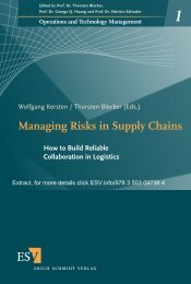 Managing Risks in Supply Chains - Hicl.org