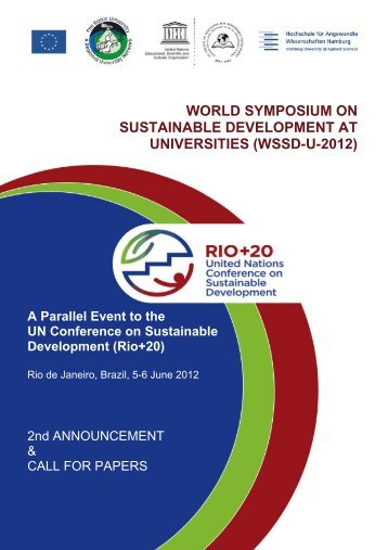 A Parallel Event to the UN Conference on Sustainable Development