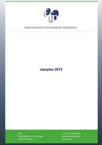 Jaarplan 2012 - EFP