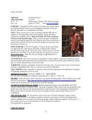 Africa in Florida - College of Fine Arts - University of Florida