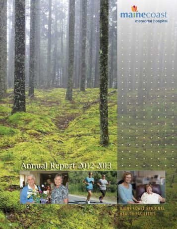 Annual Report - Maine Coast Memorial Hospital