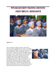 about us - Punjab Police Housing Corporation