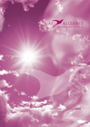 Annual report 2008 - Advanced Inflight Alliance AG
