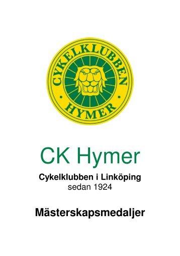 Cykelklubben i Linköping - Till ckhymer.com