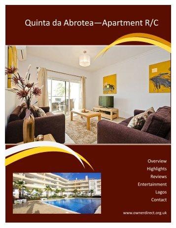 Quinta da Abrotea—Apartment R/C