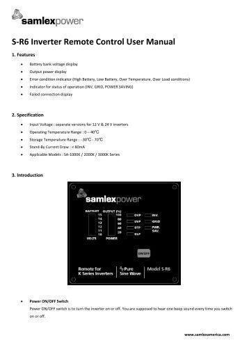 samsung inverter ac remote manual