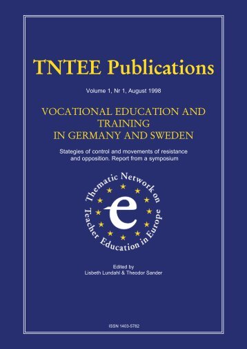 Vocational Education and Training in Germany and Sweden